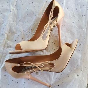 Badgley Mischka Pale Pink Shoes